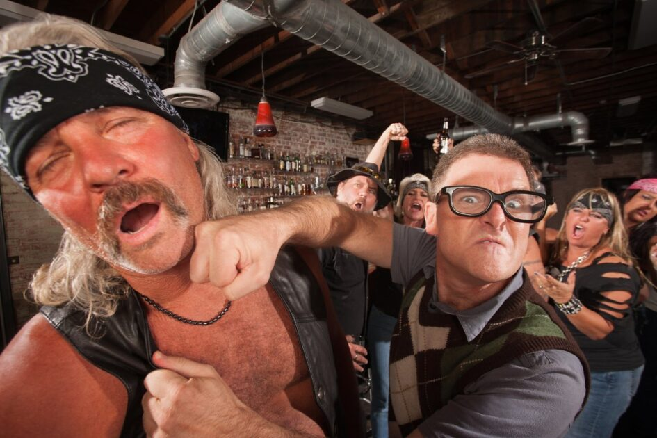 Bar Fight Legal Defense: Simple Assault Charges