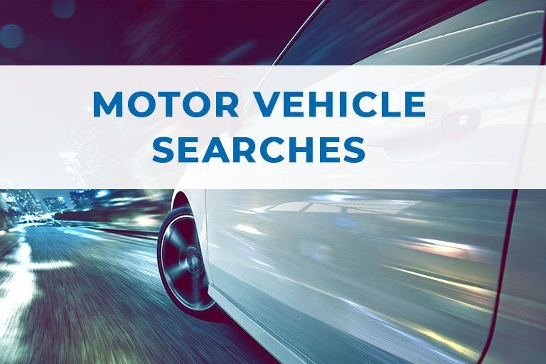 Motor Vehicle Searches